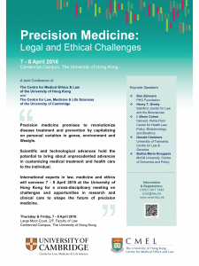Precision Medicine Poster B2d version 3 TK draft